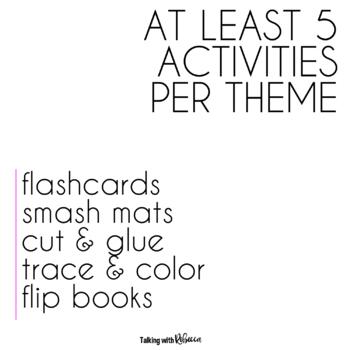 Tier 1 Vocabulary Activities Bundle
