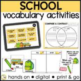 Basic Vocabulary: Back to School