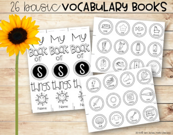Basic Vocabulary Books: My Book of A-Z Things