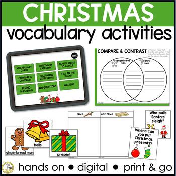 Basic Vocabulary: Christmas