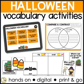 Basic Vocabulary: Halloween