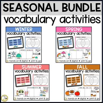 Basic Vocabulary: SEASONAL BUNDLE