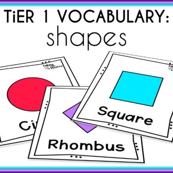 Basic Vocabulary Shapes