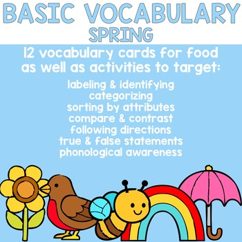Basic Vocabulary: Spring