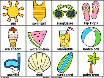 Basic Vocabulary: Summer