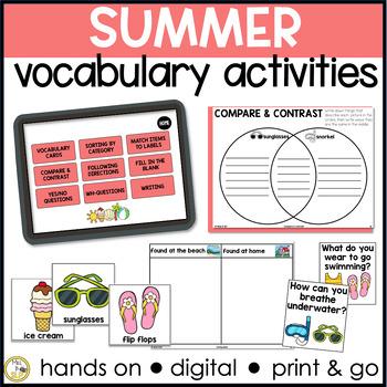 Basic Vocabulary: Summer