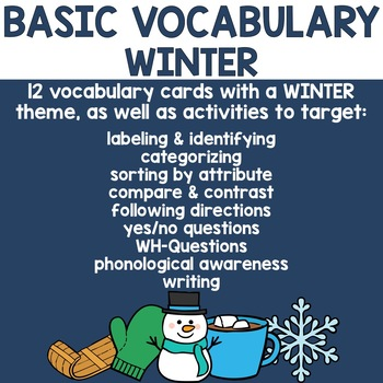 Basic Vocabulary: Winter