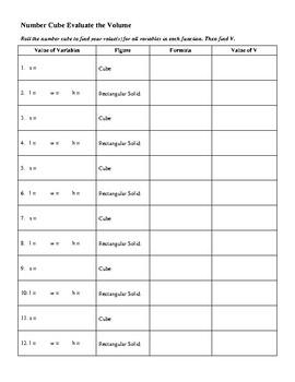 Basic Volume Ideas