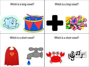 Basic Vowel Activity Cards