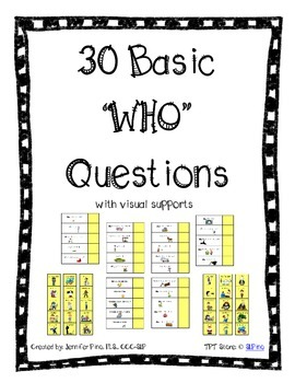 Basic WHO Questions Packet