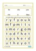 Basic Word Search Puzzles Large Print Autism Special Education