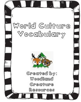 World Culture Vocabulary