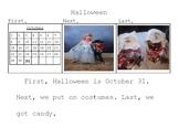 Basic Writing: Halloween