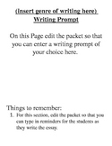 Basic Writing Packet for Essays