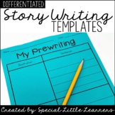 Basic Writing Templates {Differentiated}