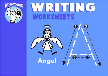 Basic Writing Worksheets by Wordtoons