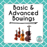 Basic and Advanced Bowings bundle