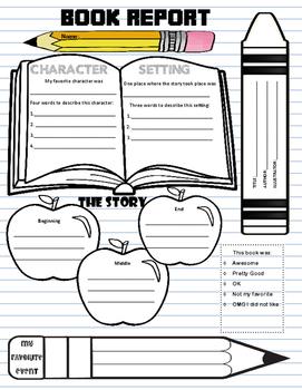 Basic and Fun Book Report