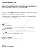 Basic coding printable for preschoolers- Visual discrimination