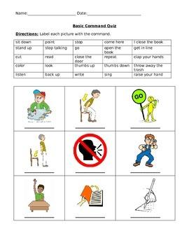 Basic commands quiz