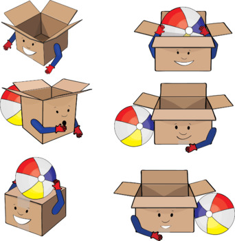 Basic concepts and prepositions Clipart