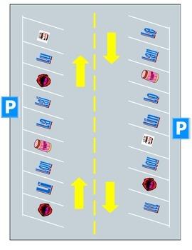 Basic /l/ sound Parking Lot Game (French & English)