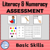 Basic literacy and numeracy skills assessment