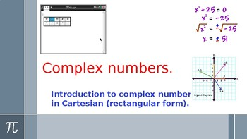 Basic operations on complex numbers.