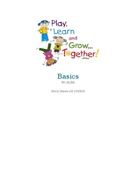Basic preschool Learning for free!