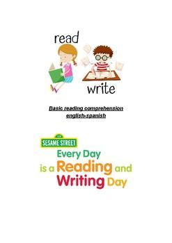 Basic reading comprehension english-spanish
