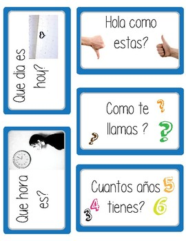 Montessori - Palabras y Frases basicas (basic sentences and words)