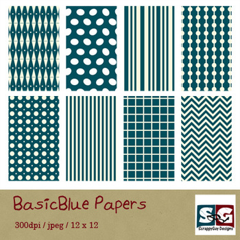 BasicBlue Paper Pack