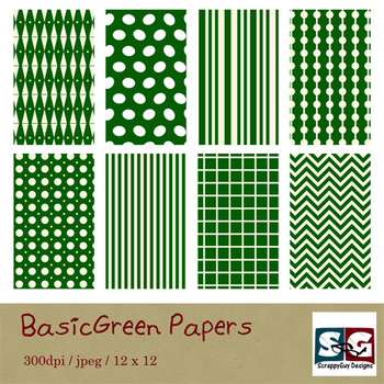 BasicGreen Paper Pack