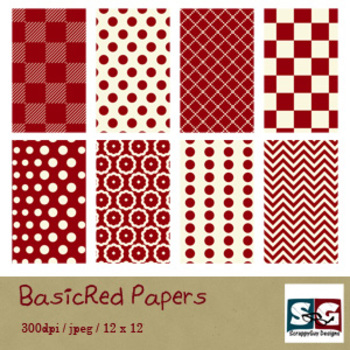 BasicRed Paper Pack
