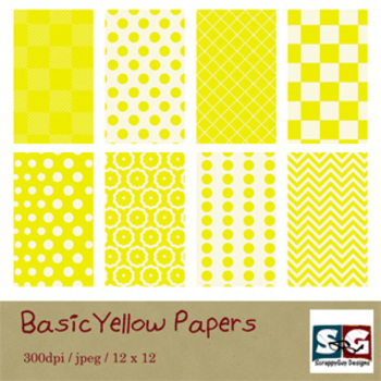 BasicYellow Paper Pack
