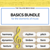 Basics Bundle for the Elements of Music