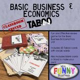 Basics Business & Economics Taboo
