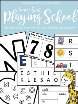 Basics for Starting Toddler School