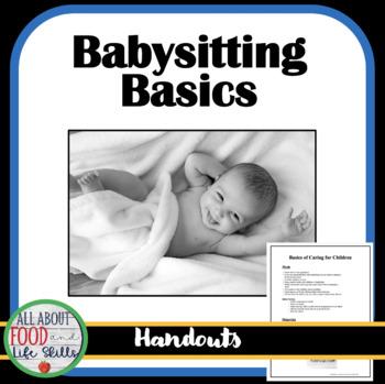 Basics of Caring for Children- Babysitting Information
