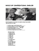 Basics of Conversational English