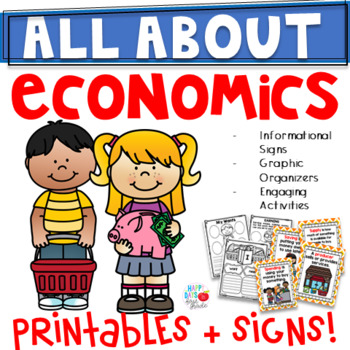 ECONOMICS UNIT- KINDERGARTEN/1ST GRADE