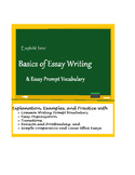 Basics of Essay Writing and Essay Prompt Vocabulary