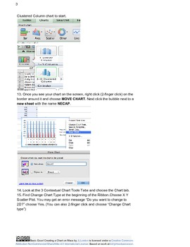 Basics of Excel: Working With Charts and Data on Macs