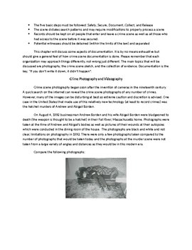 Basics of Forensic Science Chapter 2