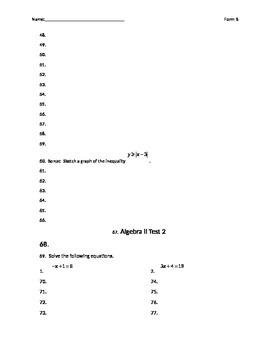 Basics of Functions Test