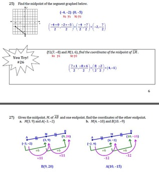 Basics of Geometry Guided Notes (complete introductory unit)