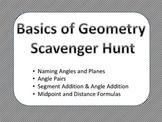 Basics of Geometry Scavenger Hunt Activity