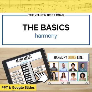 Basics of Harmony