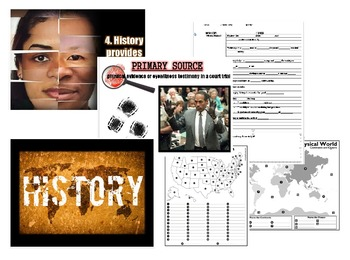 Basic Concepts of History Unit BUNDLE