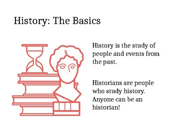 Basics of History for Middle School PowerPoint